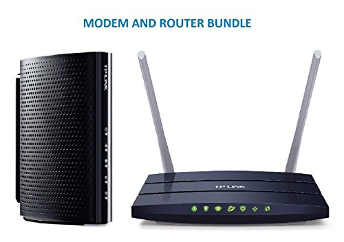 TP-Link DOCSIS 3.0  High Speed Cable Modem  and TP-Link AC12