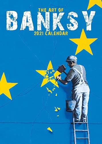 Banksy Kalender 2021, groß, DIN A3, Wandkalender