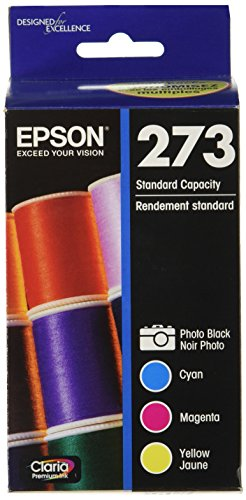 Epson T273520 DURABrite Ultra Photo Black and Color Combo Pack Cartridge Ink (Epson 610 Xp Black Photo)