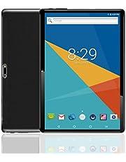 """Tablet Android con doppio slot per schede SIM sbloccato 10.1 """"Schermo in vetro IPS Octa Core 4 GB RAM 64 GB ROM 3G Phablet con WiFi GPS Bluetooth Netflix Google Play"""