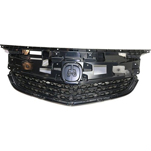 Elite7 Grille Assembly Mounting Panel Replacement for 12-14 Acura TL AC1223100 ()