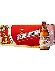 San Miguel Pale Pilsen Premium Beer Pint, 320 ml (Pack of 24)