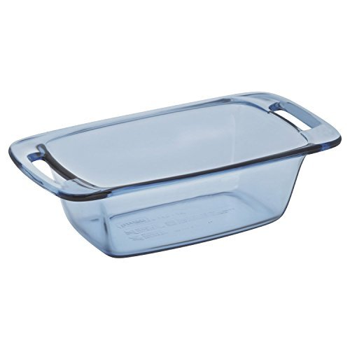 Pyrex 1.5 Quart 1.4L Easy Grab Loaf Atlantic Blue, -