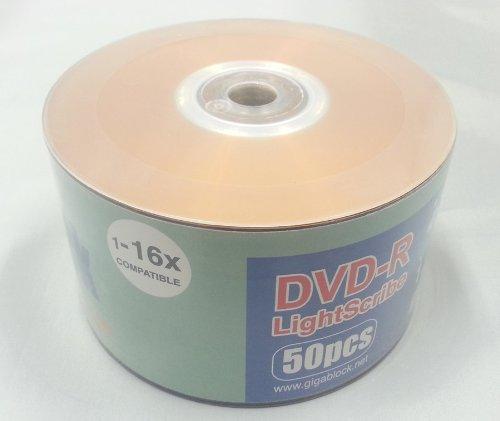 Sharp Countertop Microwave Oven Zr551zs : 50pc Gigablock LightScribe Orange Colored DVD-R 16x LS Print...