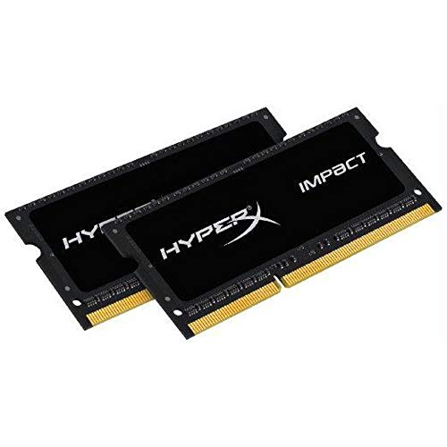 HyperX 16GB (Kit of 2) 2133MHz DDR3L CL11 1.35V SODIMM HyperX Impact Laptop Memory HX321LS11IB2K2/16