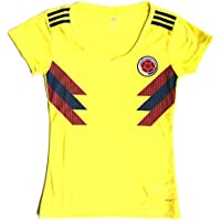 Colombian Soccer Jersey 2018 Home for Women. FIFA 2018...