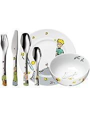 WMF 1294059964 Set de 6 Couverts Enfant, Acier Inoxydable, Multicolore, 40 x 25 x 10 cm