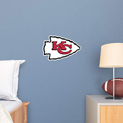 FATHEAD NFL Kansas City Chiefs - Logo Teammate- Officially Licensed Removable Wall Decal, Multicolor, Big (Sporting Kansas City Poster)