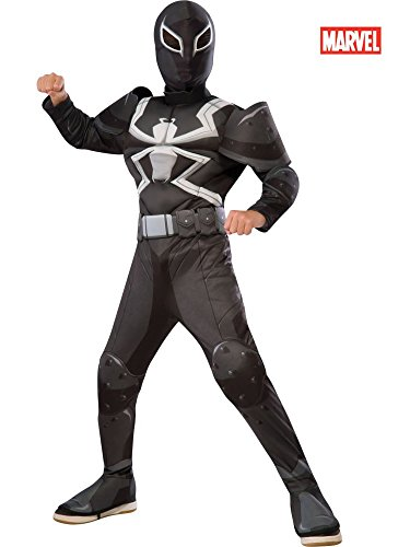 Rubie's Costume Spider-Man Ultimate Deluxe Child Agent Venom Deluxe Costume