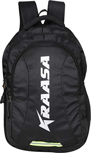 Kraasa Smart Backpack 30 L Laptop Backpack  Black