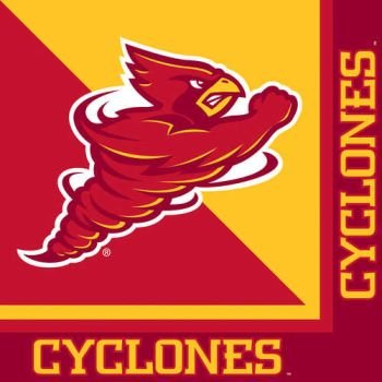 Iowa State Cyclones Lunch - 20-Count Paper Lunch Napkins, Iowa State Cyclones