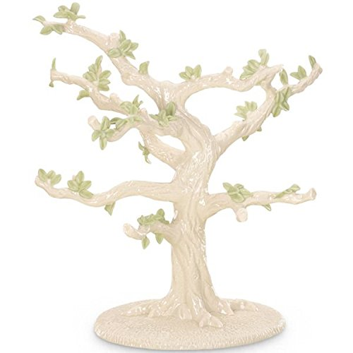Lenox Miniature Ornament Tree Figurine Irish Christmas (Ornaments Not Included)