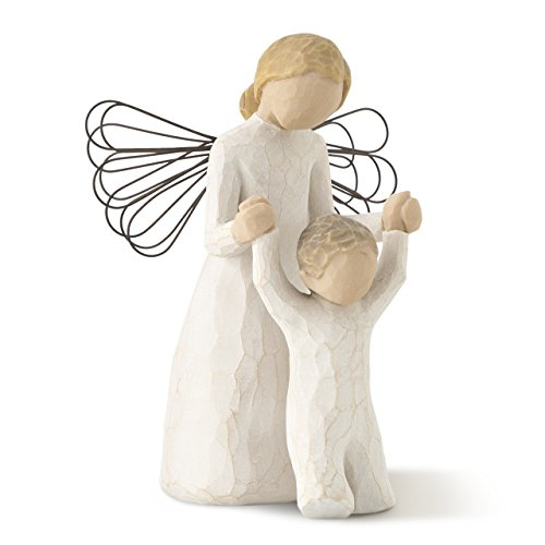 (Willow Tree Guardian Angel, sculpted hand-painted figure)