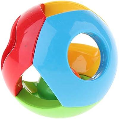 Babyrassel Pädagogische Ergreifende Rassel Handerschütterungs Klingel Ball
