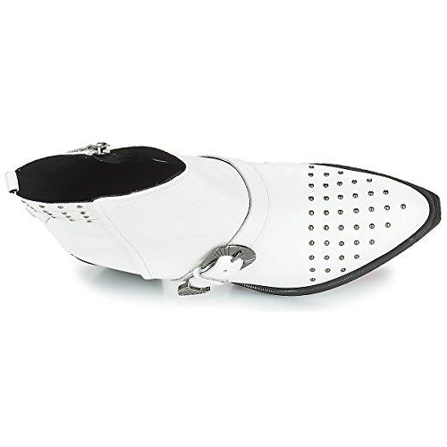 Lovai D C1000 Santiags white Femme A Blanc Geox x6qFwHT