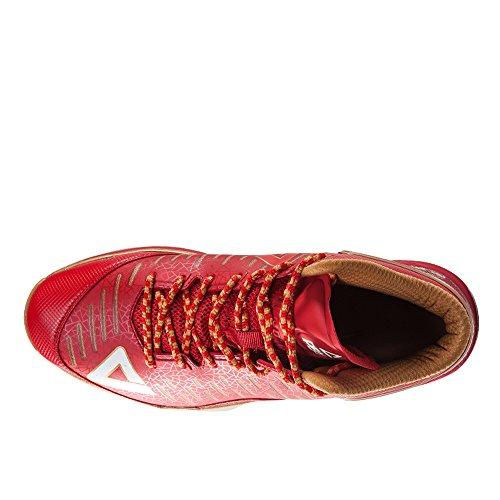 PEAK Mens Tony Parker Signature TP9-II Big Size Basketball Shoes Red/Gold ieCaZJ