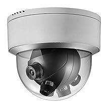 Hikvision DS-2CD6986F-H 4×5mm Fixed Lens 7.3MP(4096×1800) PanoVu series Panoramic Dome Camera Ultra-low light Heater & fan optional IP66 Waterproof (Pan: 180°, Tilt:78.4°)