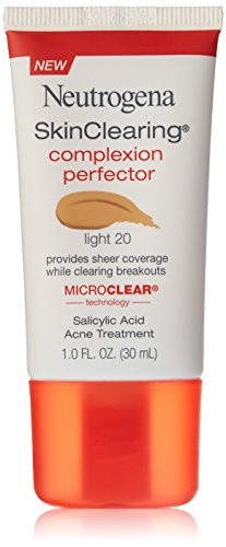 (Neutrogena Skinclearing Complexion Perfector With Salicylic Acid, Light, 1 Fl. Oz. (Pack of 2))
