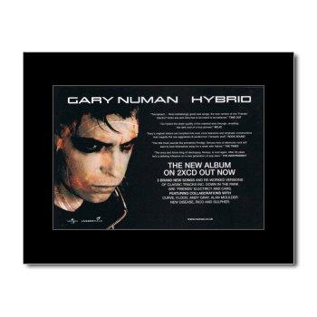 Price comparison product image Music Ad World GARY NUMAN - Hybrid Mini Poster - 21x13.5cm