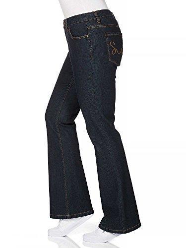 sheego Denim Vaqueros de campana tallas grandes nueva colección Mujer azul oscuro
