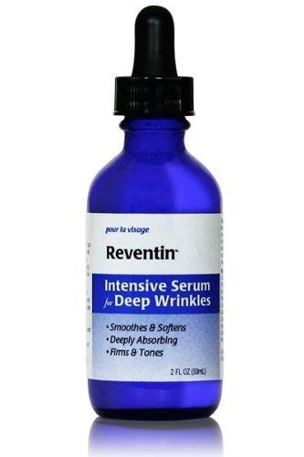 Reventin Collagen Infused Intensive Serum. Decrease Appearance of Deep Wrinkles 45-56%. 2 Fl Oz.