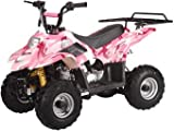 Kids 110cc ATV w/ Automatic Trans.,Foot Brake, and Remote Shutoff