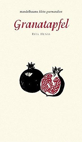 Granatapfel: mandelbaums kleine gourmandisen