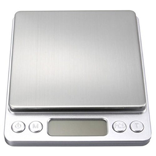 Price comparison product image LCD Digital Jewelry Pocket Scale Weight 500g x 0.01g Balance Electronic Gram (Battery not included)