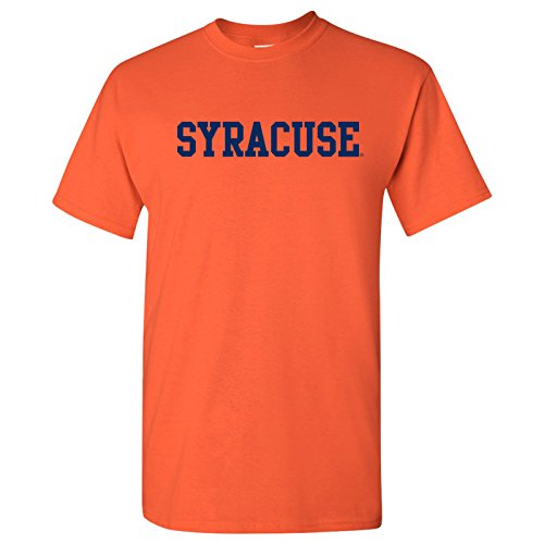 UGP Campus Apparel AS01 - Syracuse Orange Basic Block T Shirt - X-Large - Orange (Blocks Syracuse)