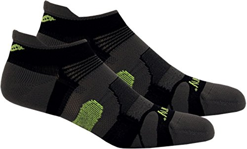 Saucony XP Light Cushioned Socks , X-Large, Black
