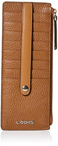 Lodis Kate W Zipper Pocket Credit Card Holder - Toffee - ...