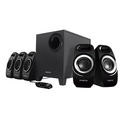 Creative Inspire T6300 51MF4115AA002 5.1 Channel 22 Watt Subwoofer Speaker System