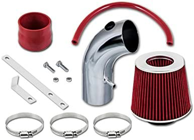 Filter 01-09 For Chrysler PT Cruiser All Model with 2.4L Non-Turbo 4-cyl Velocity Concepts Red Short Ram Air Intake Kit
