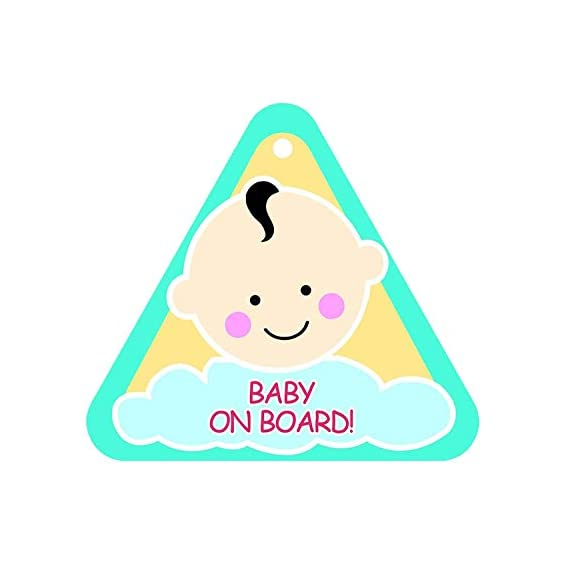 FRATELLI Baby On Board (Blue Triangle)