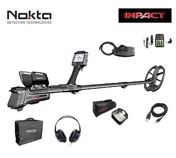 Nokta Impact Pro Detector de metales profesional cerca Oro Monedas placas Auriculares New: Amazon.es: Deportes y aire libre
