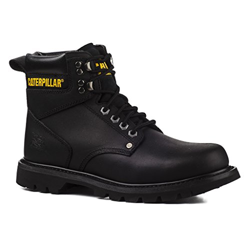 b70de1a5c1361b Caterpillar Herren Stiefel Second Shift 6 Inch Boots Leder P703925 Schwarz  705773 Braun Schwarz
