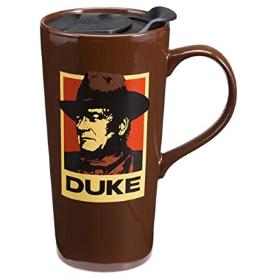 John Wayne a Mans Got to 20 Oz. Travel Mug