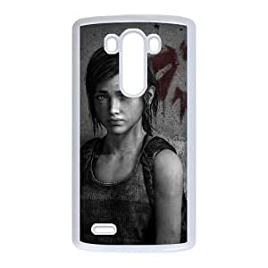 The Last Of Us LG G3 Cell Phone Case White custom made pgy007-9950750