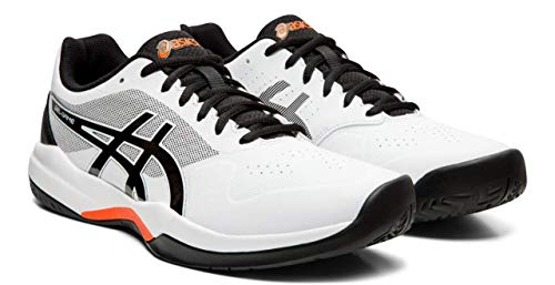- ASICS Gel-Game 7 Men's Tennis Shoe, White/Black, 6 M US