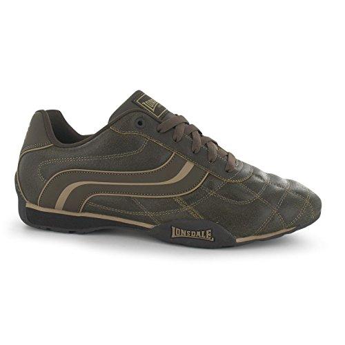 Herren Schuhe Camden Schuhe Casual Lonsdale Braun Sneakers Sportschuhe BwPqP8