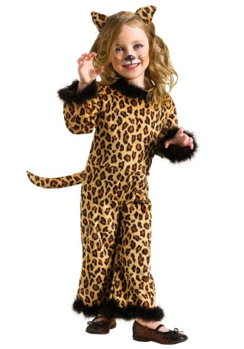 [Toddler Pretty Leopard (Large (3T - 4T))] (Child Pretty Kitty Costumes)