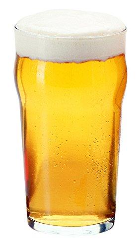 Libbey English Pub Glass (14801HT), 20oz - Set of 4 ()