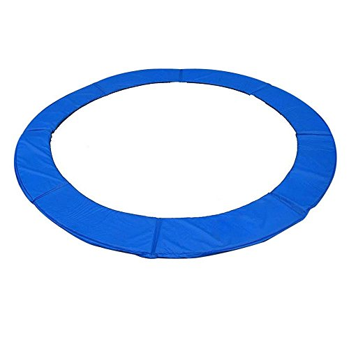 12FT Blue Circular Protection Trampoline Safety Pad Cover Replacement by FDInspiration