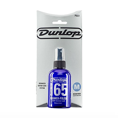 Dunlop Platinum 65 Cleaner-Polish with Cloth (P6521) (65 Guitar Polish)