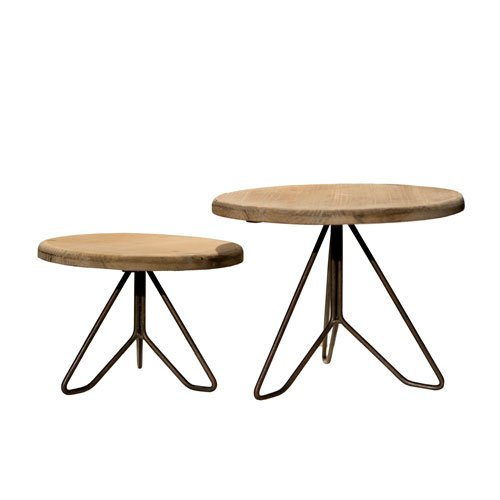 Country Plant Stands - Mid Century Modern Wooden & Metal Plant Stand