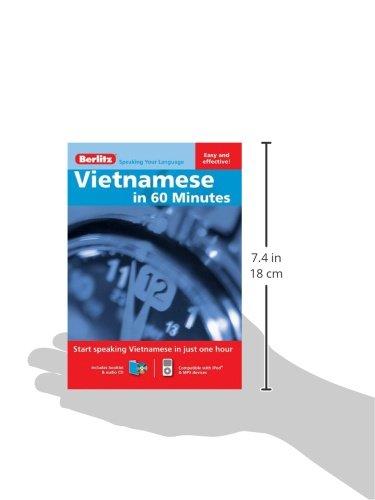 Vietnamese in 60 Minutes: Berlitz: 9789812686596: Amazon com