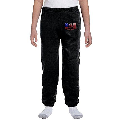 Jackson University Of Miami Youth Slim Fit Jogger Sweatpant Long Pant M