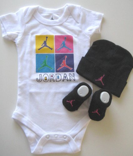Nike Jordan 3 Pcs Layette Set