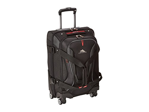 High Sierra AT7 Spinner Luggage 22 inch, Black ()