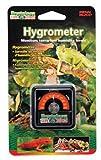 Penn-Plax Reptology Reptile Hygrometer Humidity and Temperature Sensor Gauge